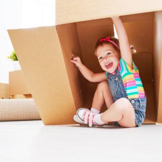 Was Sie beim Umzug mit Kind beachten sollten